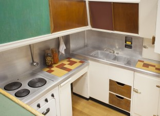 Cocina de la Unidad Habitacional de Marsella, Charlotte Perriand